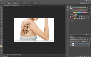 adobe photoshop tatuaż gotowy