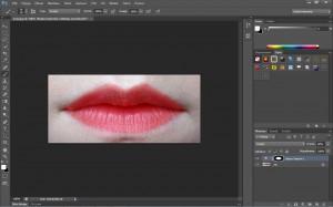 malowanie ust w programie